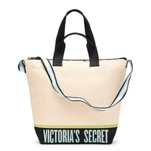 NWT Victoria's Secret Canvas Cooler Tote